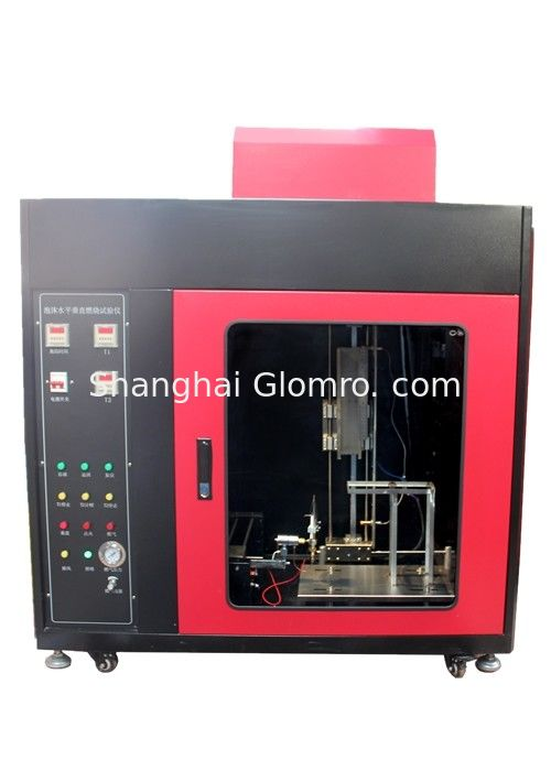 Professional Flammability Testing Equipment , Vertical Flammability Chamber